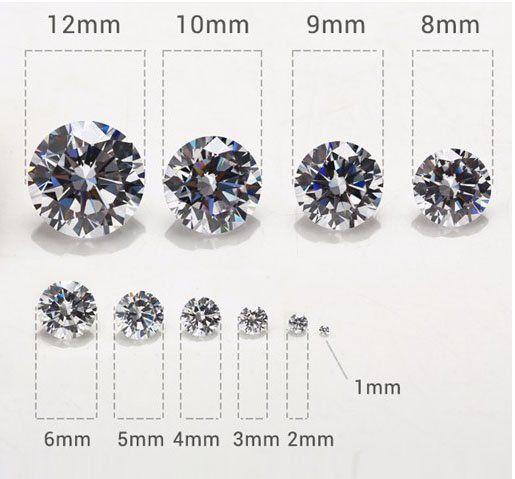 Micro Zircônia Redonda 1mm Cores Variadas - Pacote - CL054  - ArtStones