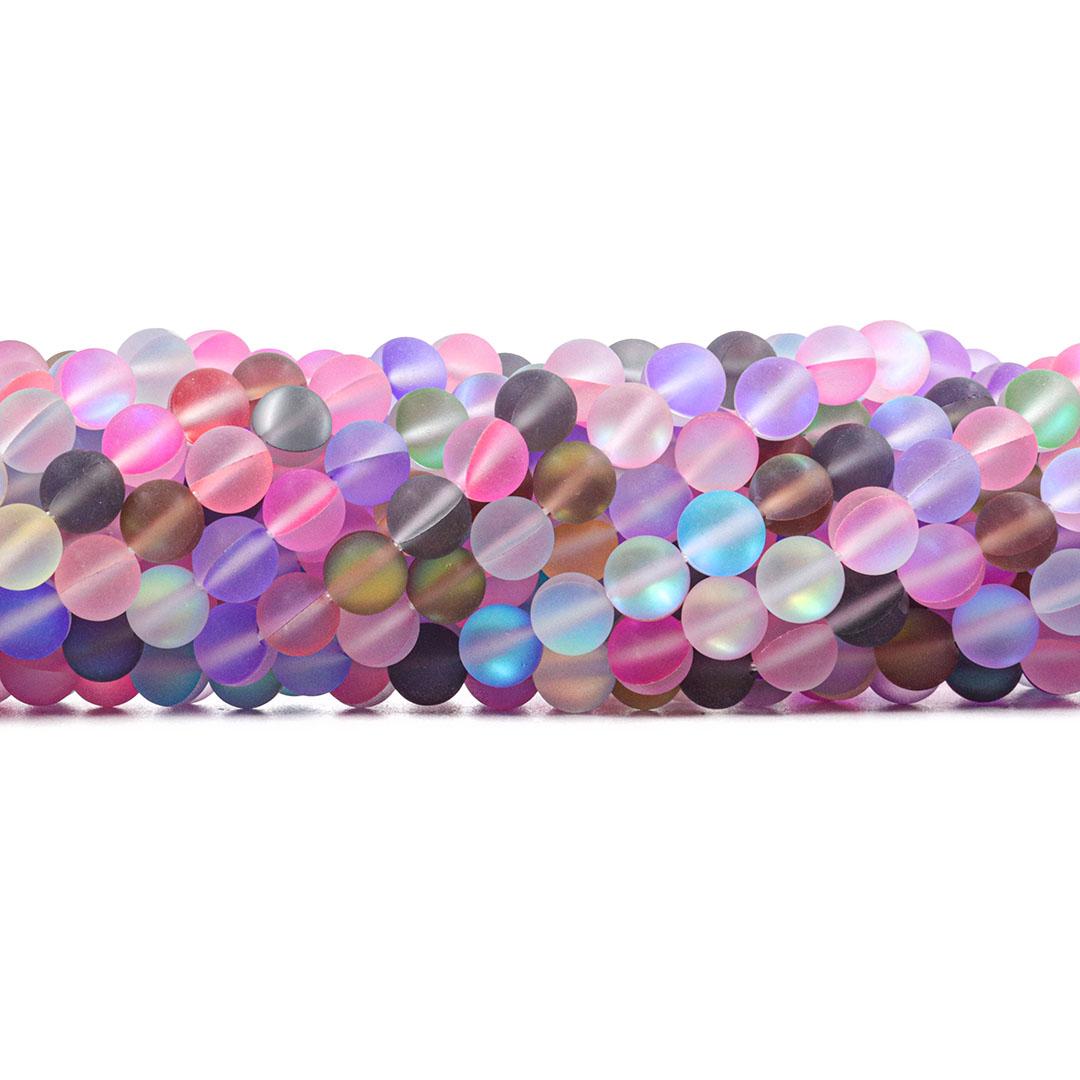 Murano Austríaco Rainbow Fosco Collormix 8mm - CV252  - ArtStones