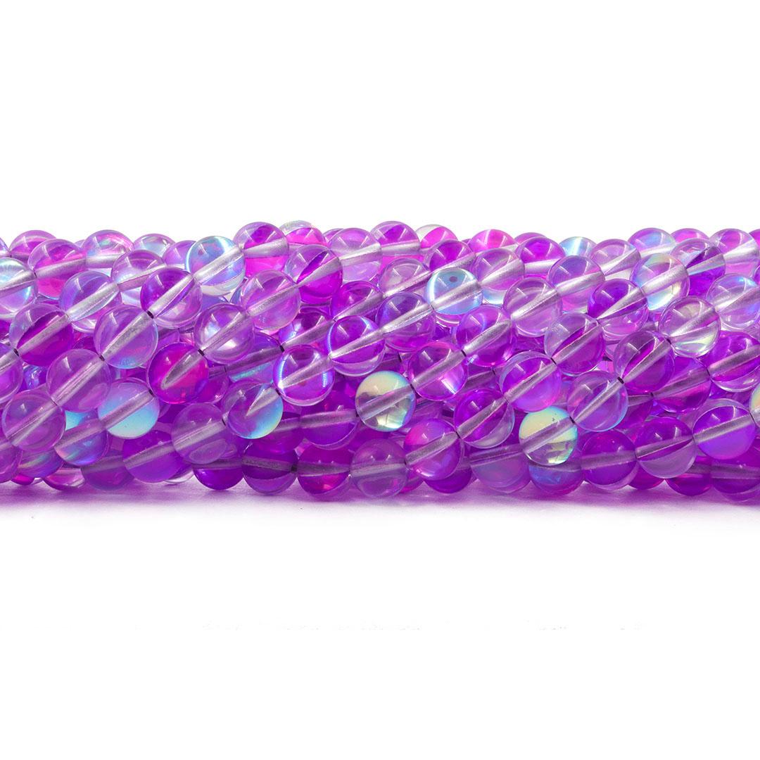 Murano Austríaco Rainbow Púrpura 8mm - CV021  - ArtStones