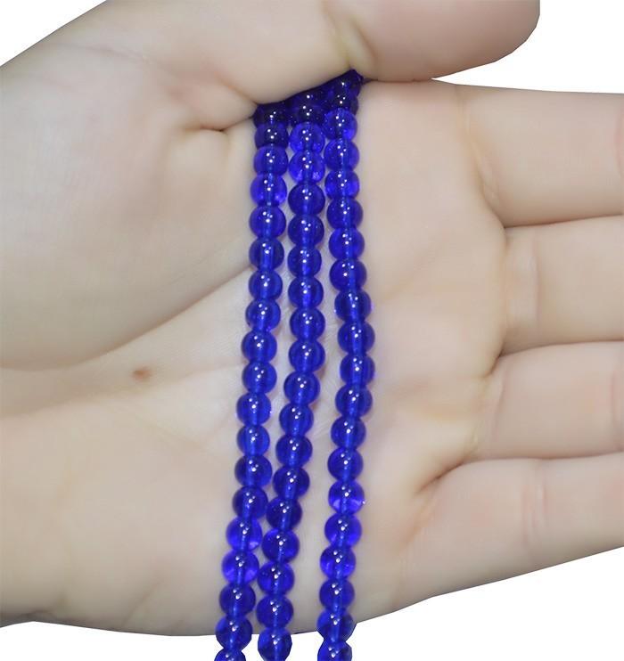 Murano Azul Anil 6mm - FMU 104/6  - ArtStones