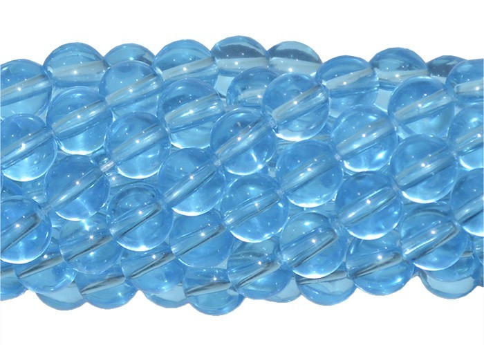 Murano Azul Topázio 6mm - CV251  - ArtStones