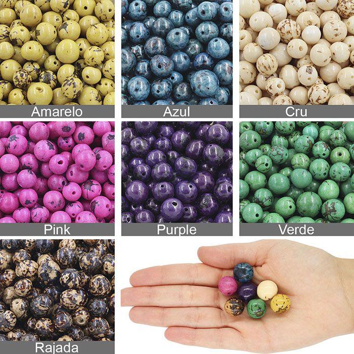 Patchuba Natural Semente - Cores Variadas - 50 grs - CM022  - ArtStones