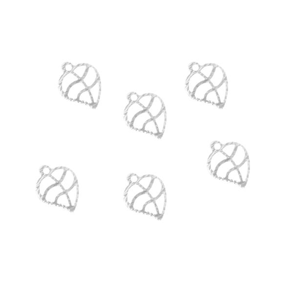 Penduricalho Folha Fotocorrosão 10x8mm Folheado - 2 Gramas - FO196  - ArtStones