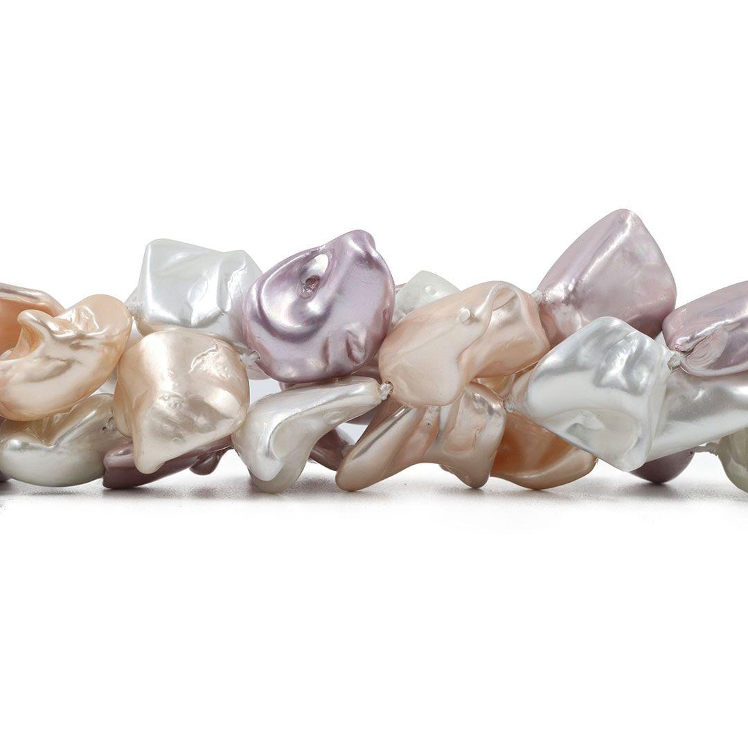 Pérola Shell Mix Athena Disforme - PM059  - ArtStones