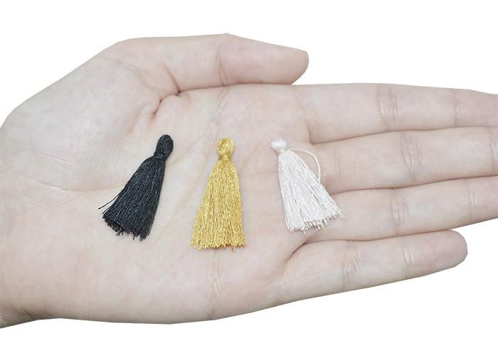 Tassel Mini 3cm em Cores Variadas - 10 peças - JAP12  - ArtStones