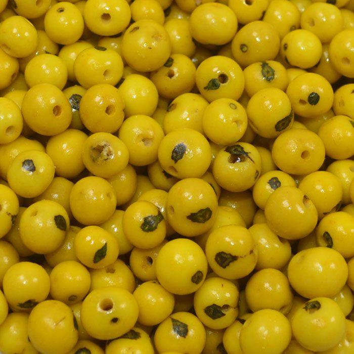 Semente de Açai Amarelo 8mm - 100grs - CM011  - ArtStones