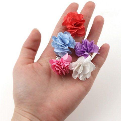 Tassel Florzinha Berloque Dourado Cores Variadas - 4 Peças - JAP03  - ArtStones